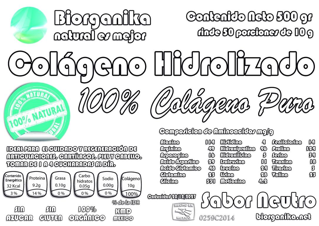 biorganika etiqueta 2018